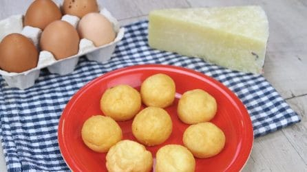 Parmesan pearls: a brilliant idea to use up leftover egg whites!