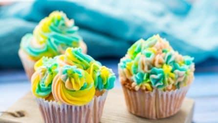 Cupcake effetto unicorno: l'idea golosa e divertente