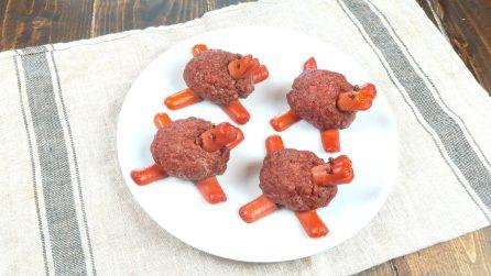 Tartarughe di carne: la ricetta golosa e divertente