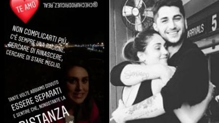 """La dolce dedica di Jeremias a Cecilia su Instagram: """"Te amo"""""""