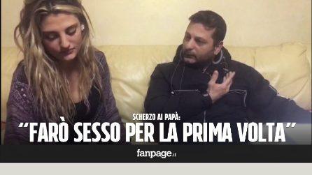 """""""Farò sesso per la prima volta"""" - scherzo ai papà"""