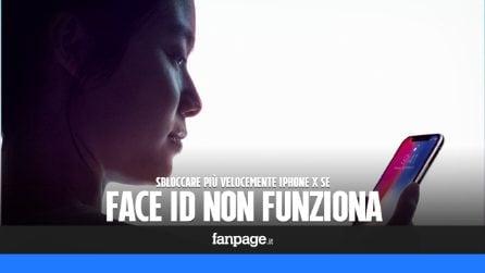 Il Face ID non funziona sempre? Ecco come sbloccare iPhone X più velocemente