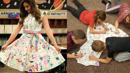 La scuola di Haley tra colori e sorrisi. La maestra dell'Oklahoma conquista il mondo