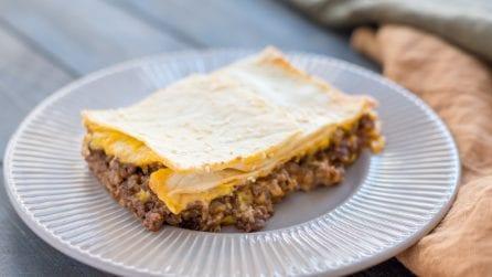 SheetPan Cheeseburger Quesadilla