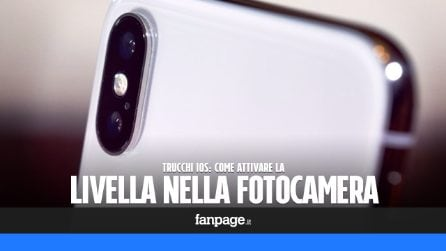 Trucchi iOS: attivare la livella nella fotocamera di iPhone e iPad