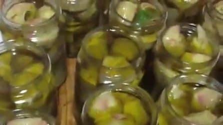 Carciofi sott'olio fatti in casa: la tipica ricetta pugliese