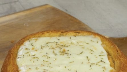 Pane ripieno: l'idea geniale per servire la zuppa ai vostri ospiti!