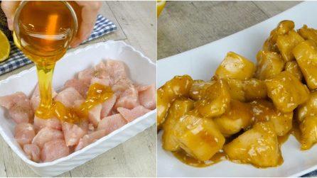 Pollo al miele: la ricetta orientale sfiziosa e saporita!