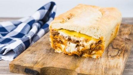Pizza di lasagna: la ricetta a cui nessuno aveva mai pensato!