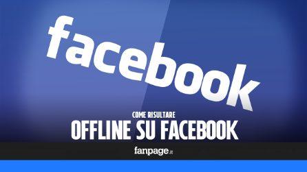 Risultare offline su Facebook mentre si scorre il News Feed