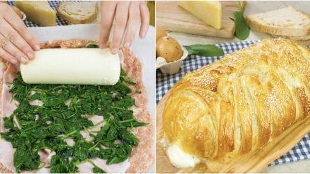 Polpettone con cuore di formaggio: piacerà a grandi e piccini!