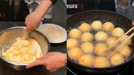 Farina, formaggio e uova: tre ingredienti per delle saporitissime polpette