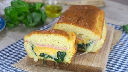 Savory cake: a unique idea for a super tasty dinner!