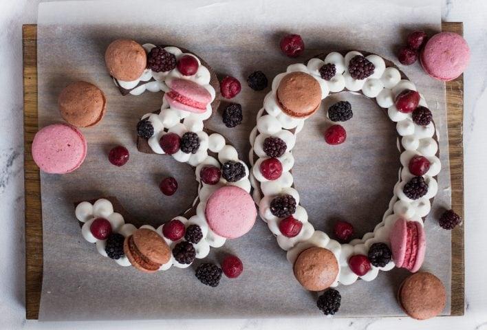 Cream Tart A Forma Di Numero La Torta Ideale Per Ogni Festa Di