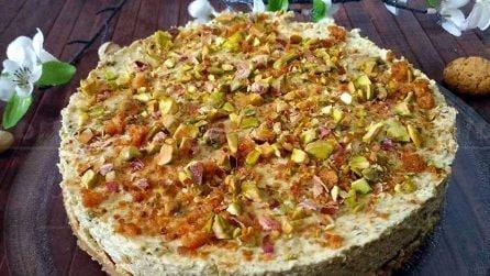 Torta fredda al pistacchio: la ricetta semplice da acquolina in bocca
