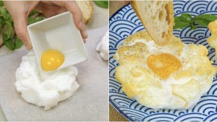 Nuvole di uova: non le avete mai cucinate in questo modo!