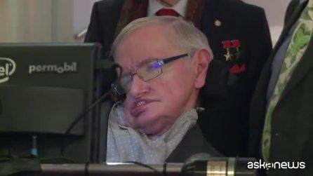E' morto a 76 anni il celebre astrofisico Stephen Hawking