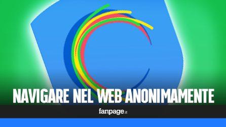 Con questa app potrai navigare il web in totale anonimato