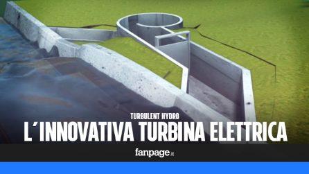 Turbulent Hydro, l'innovativa turbina elettrica