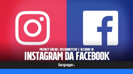 Privacy online: scollegare Instagram da Facebook