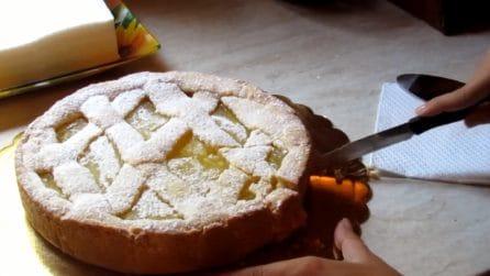 La ricetta per una buonissima crostata al limone