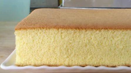 Castella cake: una soffice e delicata torta con il miele