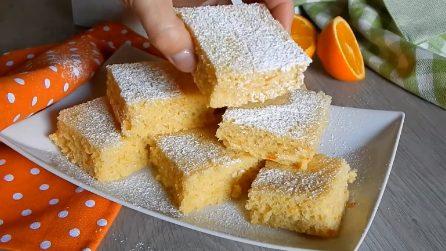 Dolcetti arancia e ricotta senza burro: soffici e deliziosi