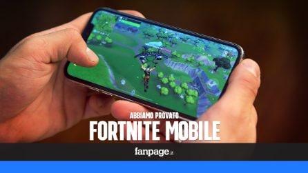 Abbiamo provato Fortnite Mobile su iPhone X