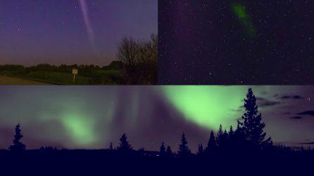 """""""Un'aurora di nome Steve"""": Nasa pubblica le immagini del nuovo e spettacolare fenomeno"""