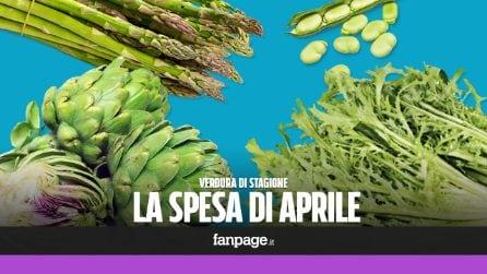 La verdura di stagione: cosa comprare ad aprile