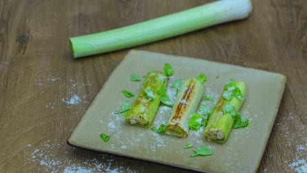 Stuffed leek