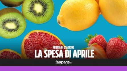 La frutta di stagione: cosa comprare ad aprile
