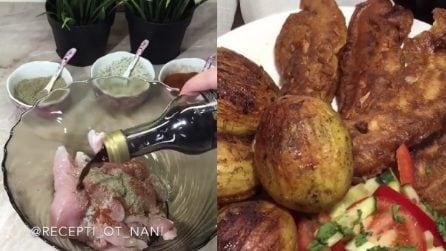 Un modo speciale di preparare il pollo: il risultato è davvero squisito
