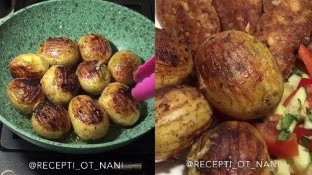 Un modo gustoso di condire le patate: il risultato finale è delizioso