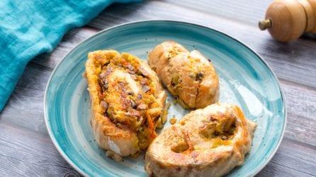 Rotolo al salmone, la ricetta light e piena di gusto!