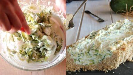 Torta di zucchine senza cottura: perfetta per un pranzo diverso dal solito