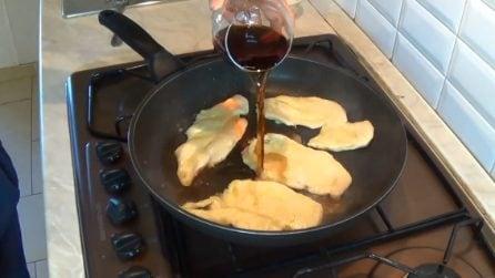 Scaloppine di pollo con Marsala all'uovo: il loro sapore ti delizierà
