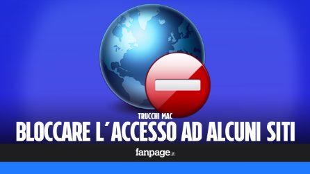 Trucchi Mac: bloccare l'accesso ad alcuni siti