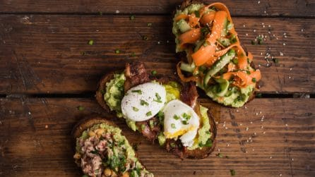 3 avocado toasts