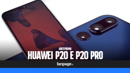 Anteprima P20 Pro, il top di gamma Huawei con 3 fotocamere da 40 megapixel