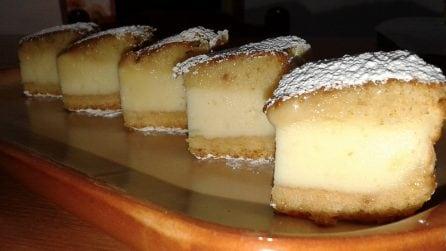 La ricetta per una deliziosa torta versata alla ricotta