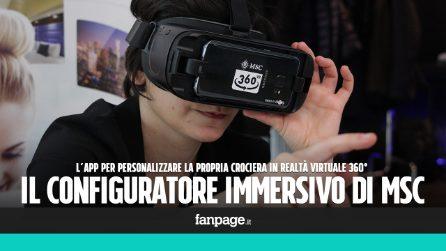 MSC Crociere presenta il Configuratore immersivo di viaggi: l'innovativo catalogo in VR 360°