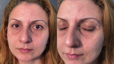 La magia del make up: la trasformazione di questa donna è magnifica