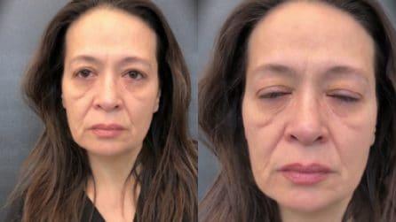 Questa donna vuole vedersi più giovane per un giorno: il make up artist realizza il suo desiderio