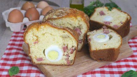 Plumcake con uova sode: ogni fetta sarà super gustosa!