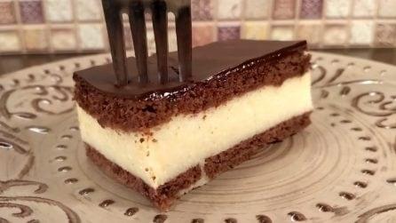 """Torta """"Latte di uccello"""": un dolce russo goloso e senza cottura"""