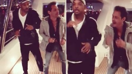 Will Smith a lezione di salsa con Mark Anthony: milioni di visualizzazioni su Instagram