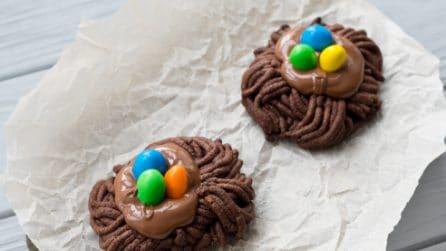 Nidi al cioccolato: il trucchetto per un dolce di Pasqua