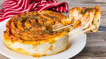 Girella di pizza: l'idea super gustosa!