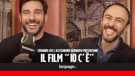 """'Io c'è' il film, Edoardo Leo e Alessandro Aronadio: """"Chi ha fede in un Dio vive meglio di noi"""""""